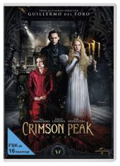 Crimson Peak, 1 DVD Cover