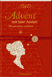 Advent mit Jane Austen, Briefbuch zum Aufschneiden