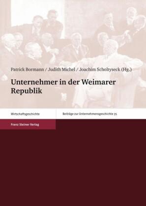 Unternehmer in der Weimarer Republik