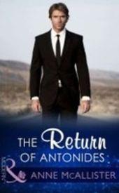 Return Of Antonides (Mills & Boon Modern)
