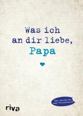 Was ich an dir liebe, Papa Cover