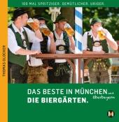 Das Beste in München und Oberbayern Die Biergärten, m. 1 Karte Cover