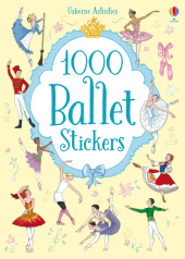 1000 Ballet stickers Cover