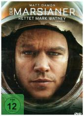 Der Marsianer - Rettet Mark Watney, 1 DVD Cover