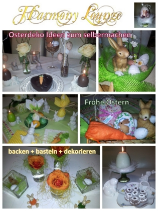 Osterdeko Ideen für die Festtage, zum selbermachen