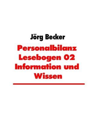 Personalbilanz Lesebogen 02 Information und Wissen