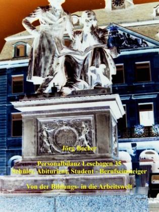 Personalbilanz Lesebogen 35 Schüler, Abiturient, Student - Berufseinsteiger