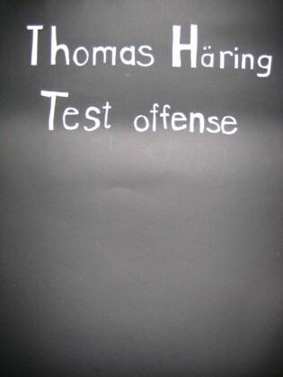Test offense