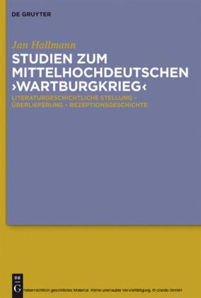 Studien zum mittelhochdeutschen 'Wartburgkrieg'