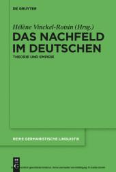 Das Nachfeld im Deutschen