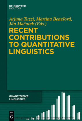 Recent Contributions to Quantitative Linguistics