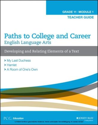 English Language Arts, Grade 11 Module 1