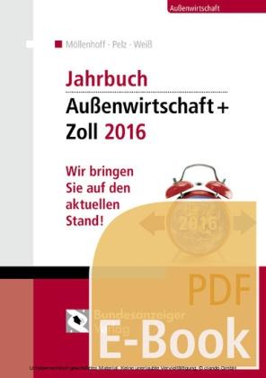Jahrbuch Außenwirtschaft + Zoll 2016 (E-Book)