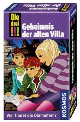 Die drei !!!, Geheimnis der alten Villa (Kinderspiel)