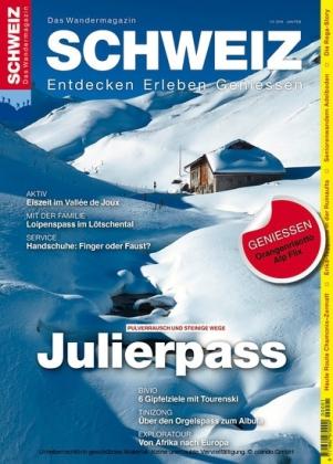 Julierpass - Wandermagazin SCHWEIZ 1-2/2016