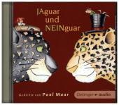 Jaguar und Neinguar - Gedichte von Paul Maar, 1 Audio-CD Cover