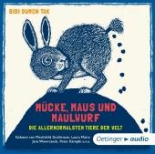 Mücke, Maus und Maulwurf, 1 Audio-CD Cover
