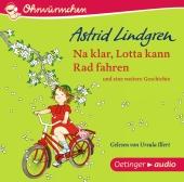 Na klar, Lotta kann Rad fahren, Audio-CD Cover