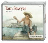 Tom Sawyer, 4 Audio-CDs Cover