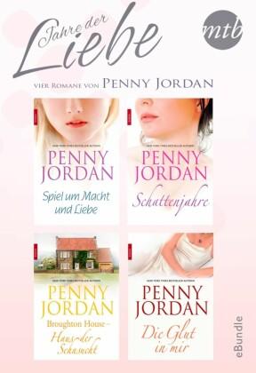 Jahre der Liebe - vier Romane von Penny Jordan