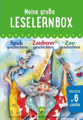 Meine große Leselernbox: Spukgeschichten, Zauberergeschichten, Zoogeschichten