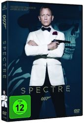 James Bond 007 - Spectre, 1 DVD Cover