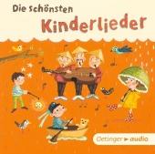 Die schönsten Kinderlieder, Audio-CD Cover