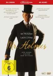 Mr. Holmes, 1 DVD Cover