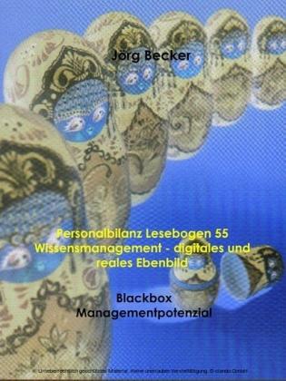 Personalbilanz Lesebogen 55 Wissensmanagement - digitales und reales Ebenbild