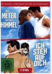 Drei Meter über dem Himmel / Ich steh auf Dich, 2 DVDs Cover