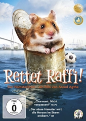 Rettet Raffi! - Der Hamsterkrimi, 1 DVD