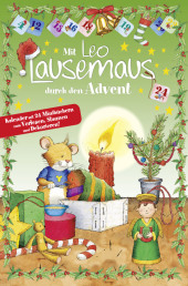 Mit Leo Lausemaus durch den Advent Cover