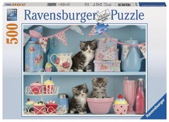 Katzen im Cupcakeregal (Puzzle)