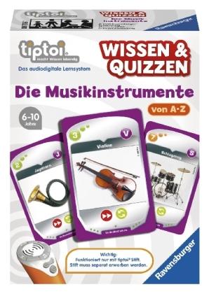 Wissen & Quizzen, Die Musikinstrumente (Spiel-Zubehör)