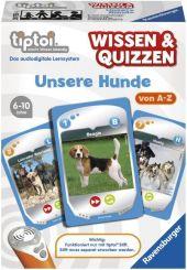 Wissen & Quizzen, Unsere Hunde (Spiel-Zubehör) Cover