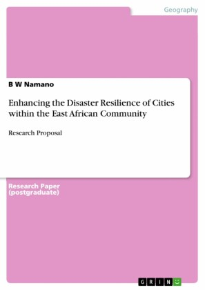 Enhancing the Disaster Resilience of Cities within the East African Community