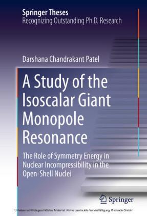 A Study of the Isoscalar Giant Monopole Resonance