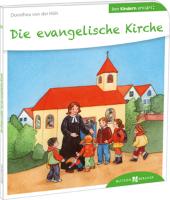 Die evangelische Kirche den Kindern erklärt Cover