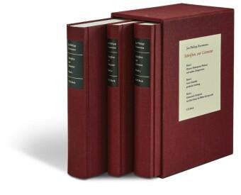 Schriften zur Literatur Gesamtwerk