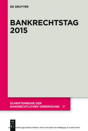 Bankrechtstag 2015