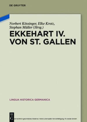 Ekkehart IV. von St. Gallen