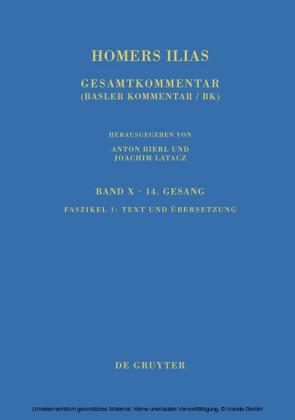 Text und Übersetzung. Fasz.1