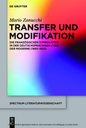Transfer und Modifikation
