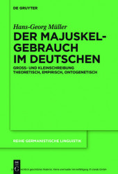 Der Majuskelgebrauch im Deutschen
