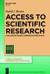 Access to Scientific Research