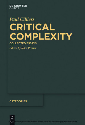 Critical Complexity