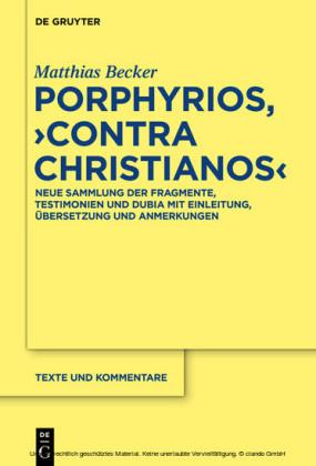 Porphyrios, 'Contra Christianos'