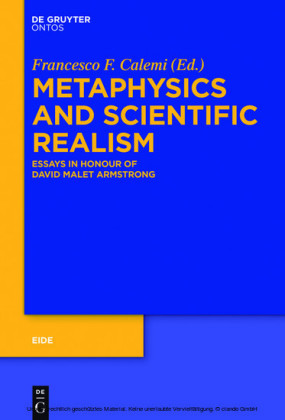 Metaphysics and Scientific Realism