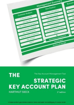 The Strategic Key Account Plan