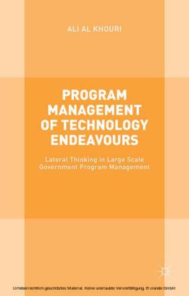 Program Management of Technology Endeavours
